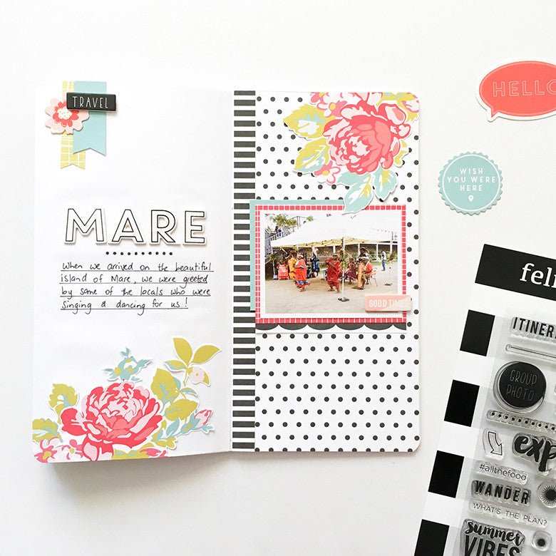 Mare Traveler's Notebook Spread | Mandy Melville
