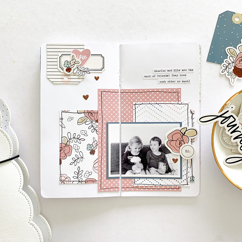 Love TN Layout | Mandy Melville