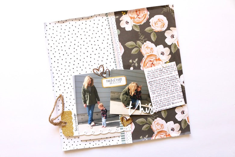 The Best Part Layout | Carol Chastain