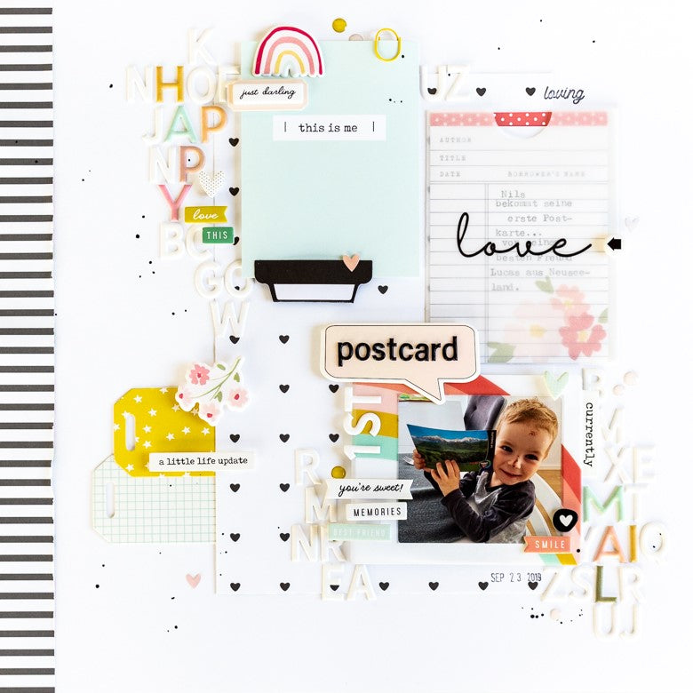 Happy Mail Layout | Ulrike Dold