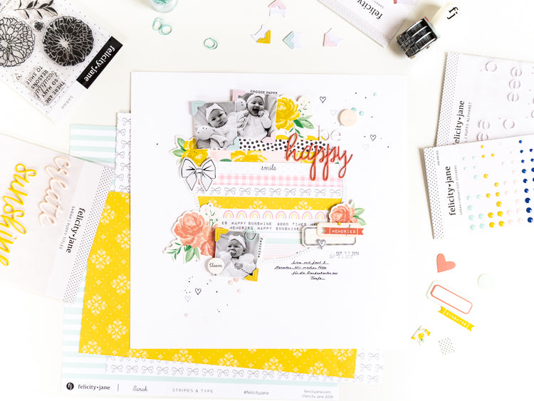 Be Happy Layout | Ulrike Dold