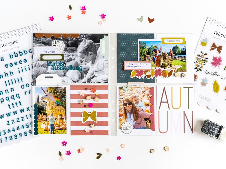 Autumn Pocket Page | Ulrike Dold