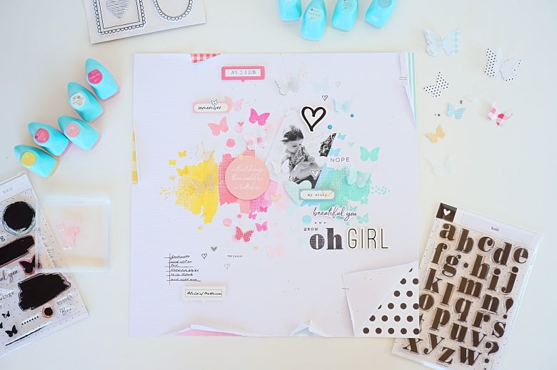 Oh Girl Layout | Ulrike Dold