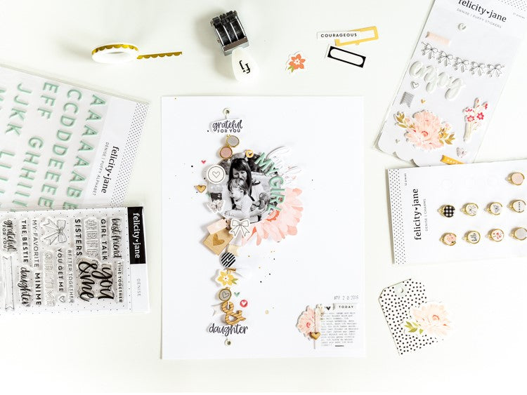 My Lovely Girl Layout | Denise collection | Ulrike Dold
