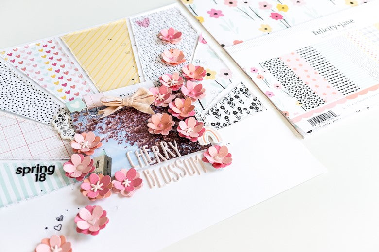 Cherry Blossom Layout | Ulrike Dold