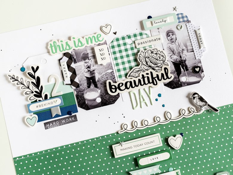 Mix & Match Layout with Lola & Grace | Ulrike Dold