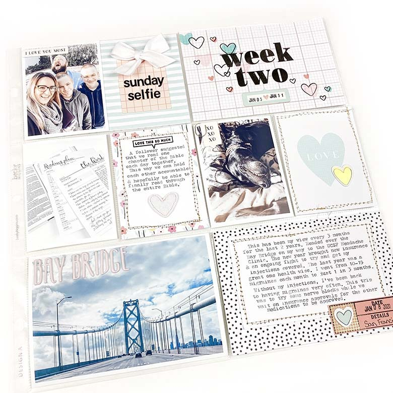 Pocket Page Week 2 | Lindsey Lanning