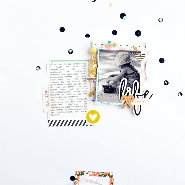 Awesome Life Layout | Anne Keller