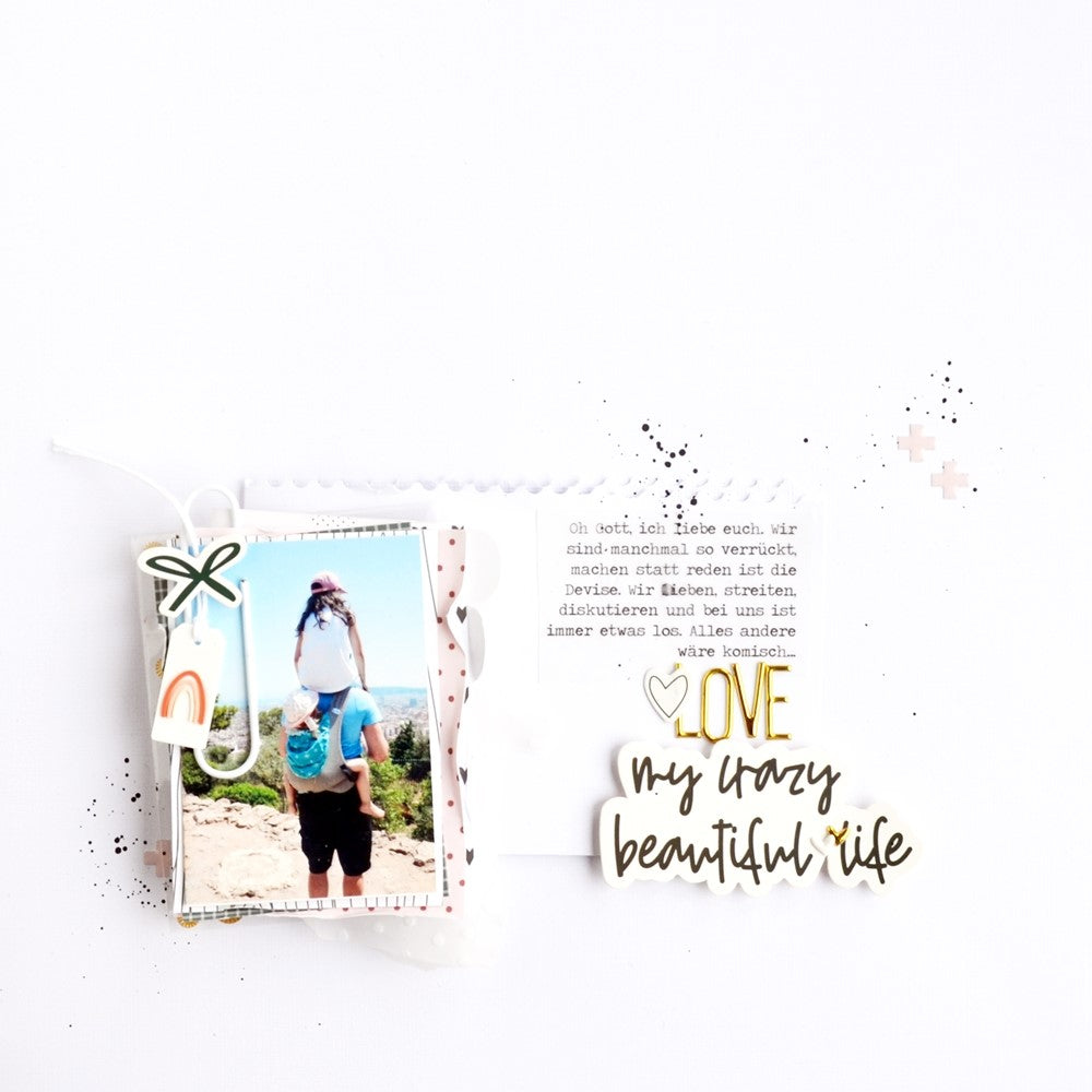 My Crazy Beautiful Life Layout | Anne Keller