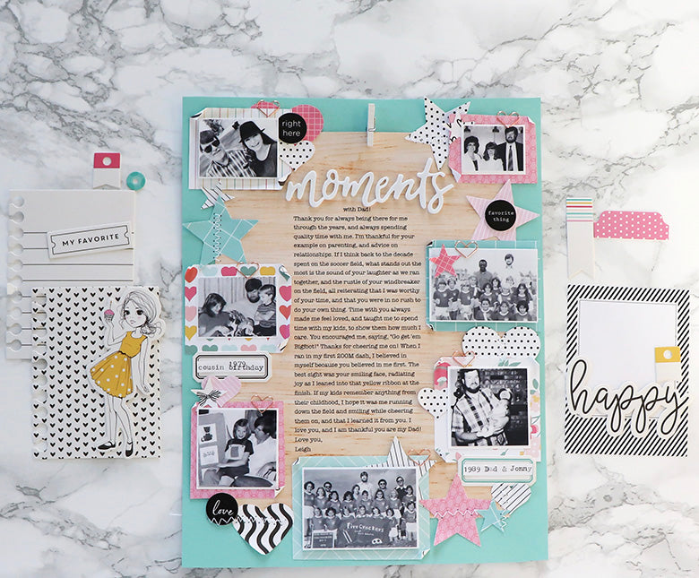 Moments Layout | Leigh Ann Odynski