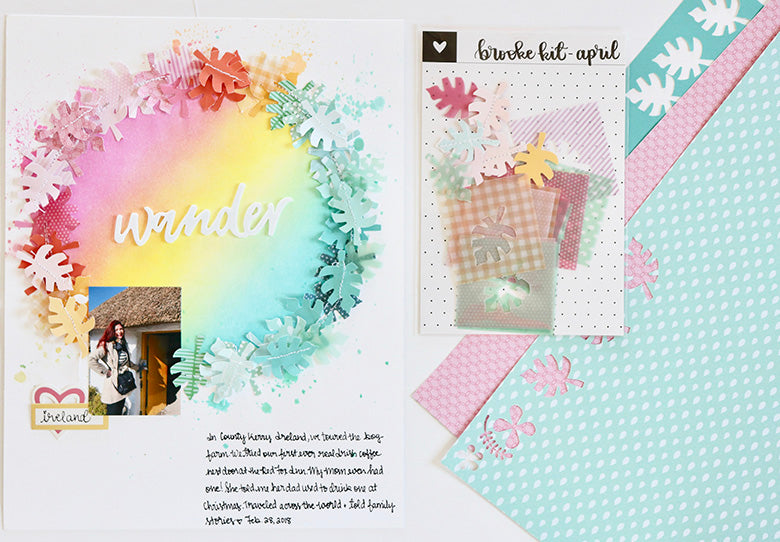Mixing Kits - Wander Layout | Leigh Ann Odynski