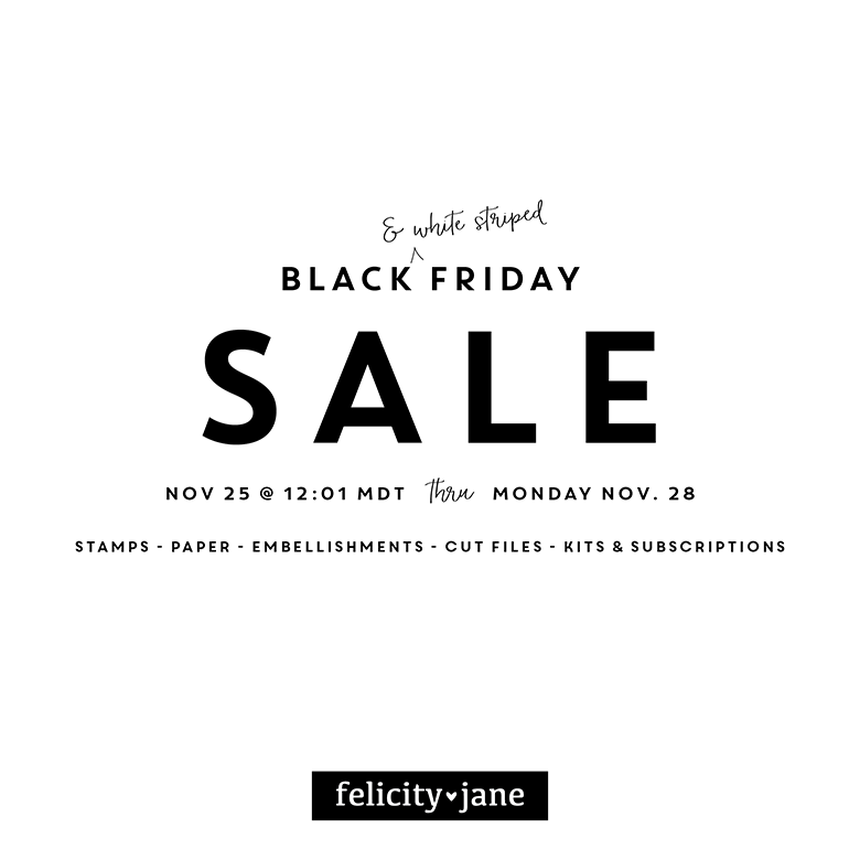 Black [ & white striped ] Friday Sale!