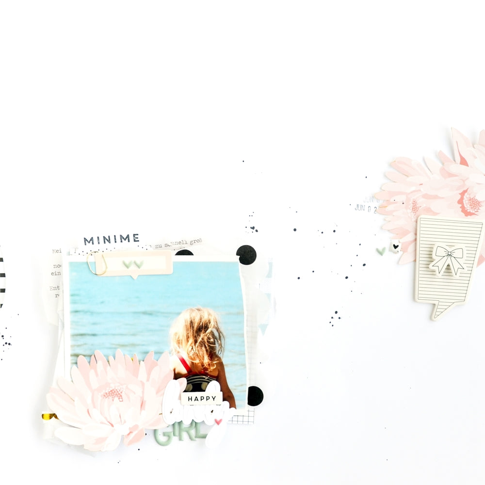 Happy lovely girl Layout | Anne Keller