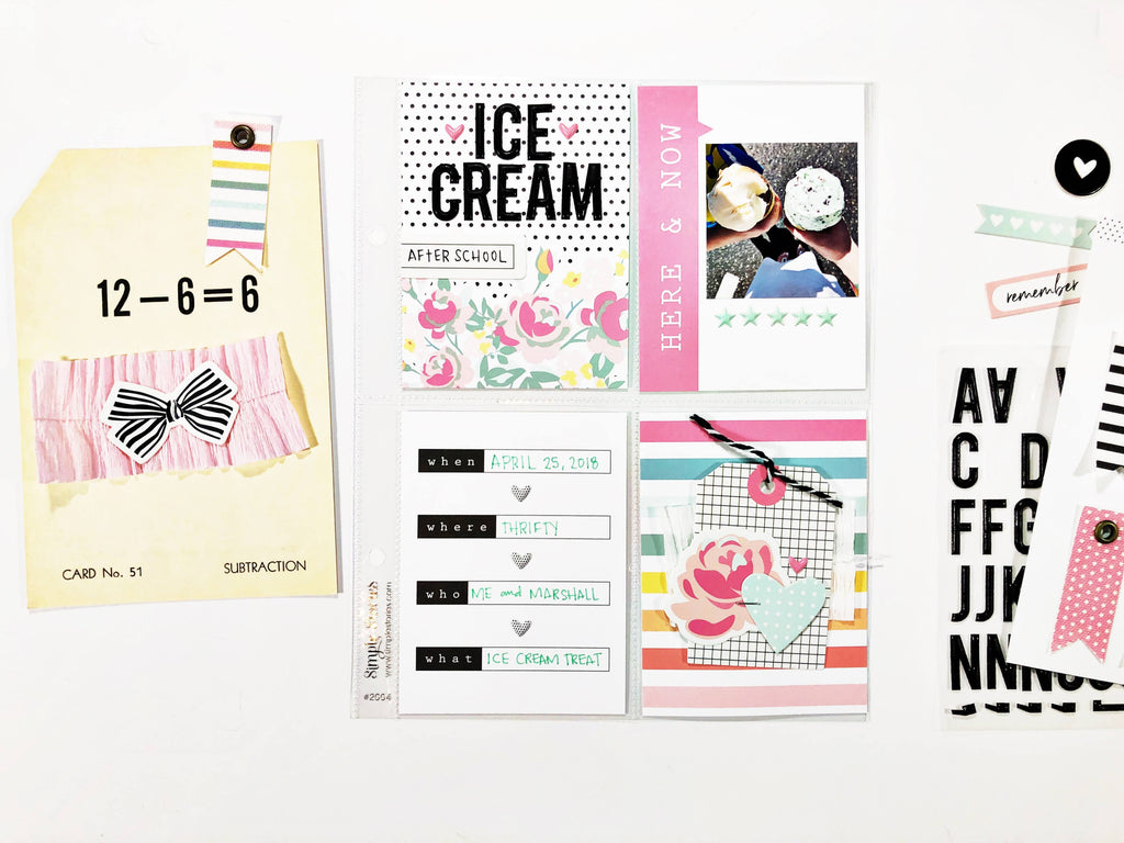 Ice Cream Pocket Page | Andrea Gray