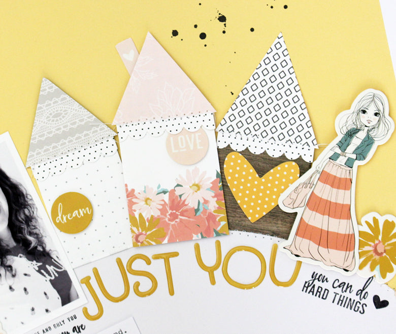 Just You Layout | Kim Jeffress