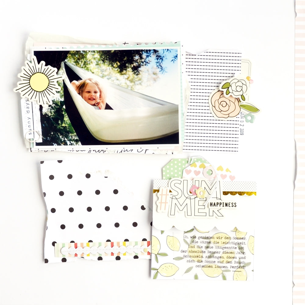 Summer Happiness Layout | Anne Keller