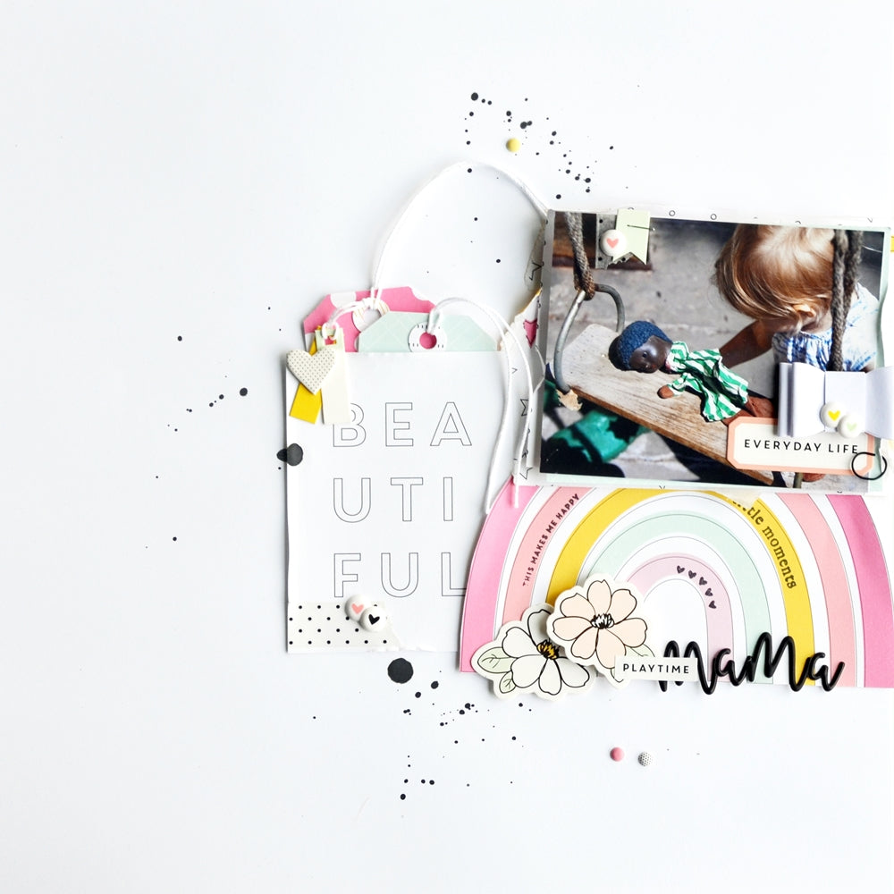 Playtime Mama Layout | Anne Keller