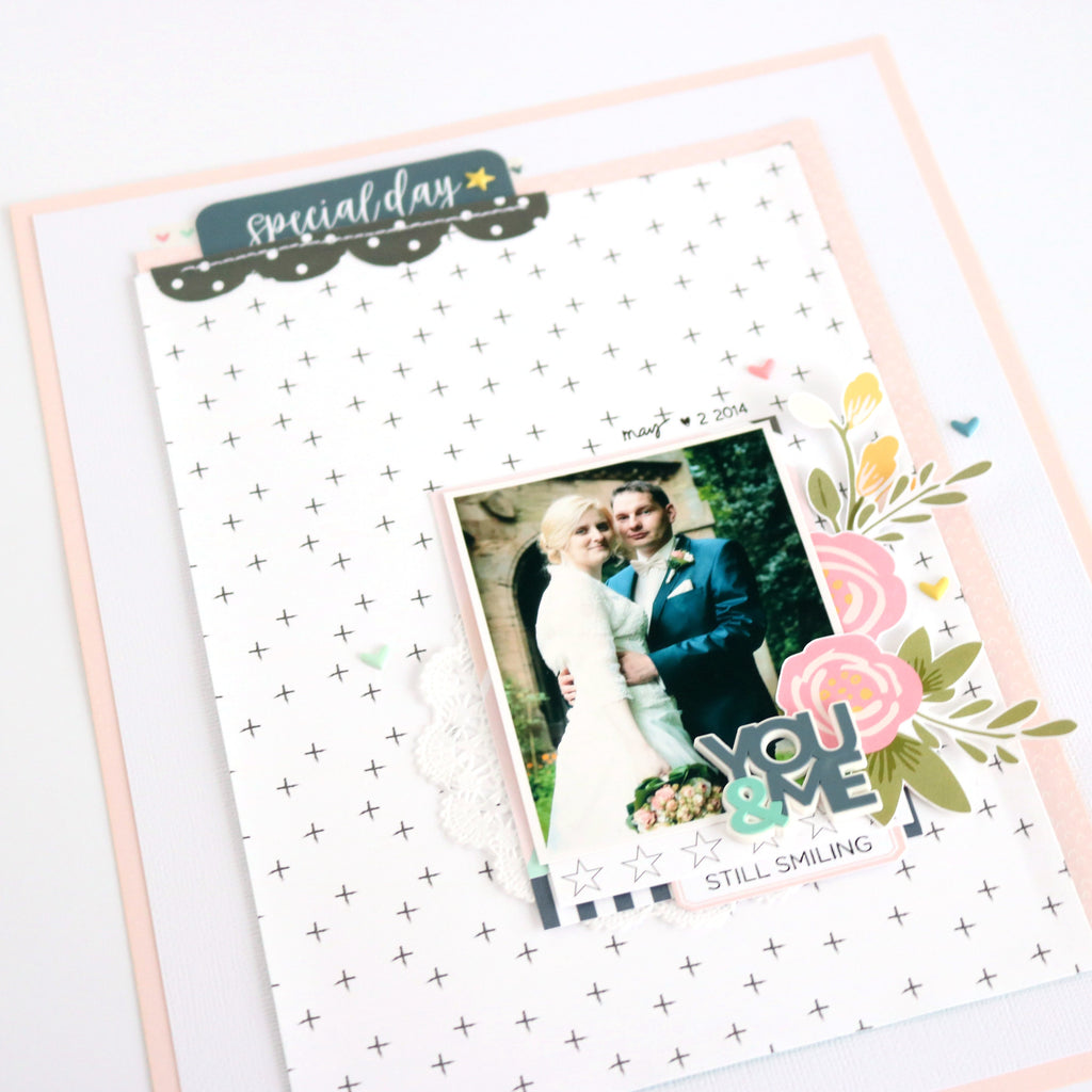 Special Day Layout | Evelyn Wolff