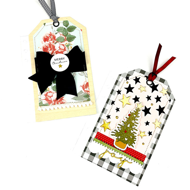 Christmas Album Journaling Tags | Lindsey Lanning