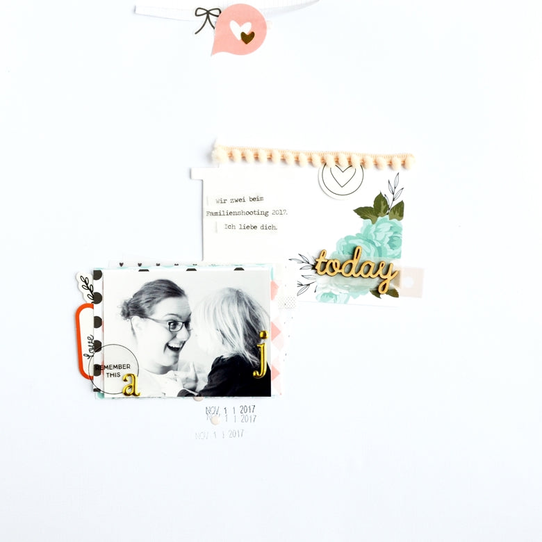 Stretch Your Kit - Today Layout | Anne Keller