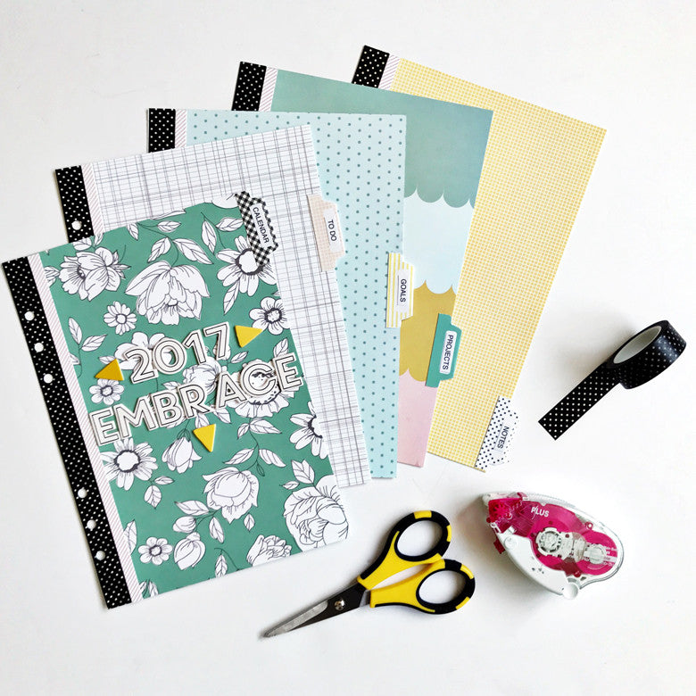 Planner Dashboard and Dividers by Anita Patel | @FelicityJane