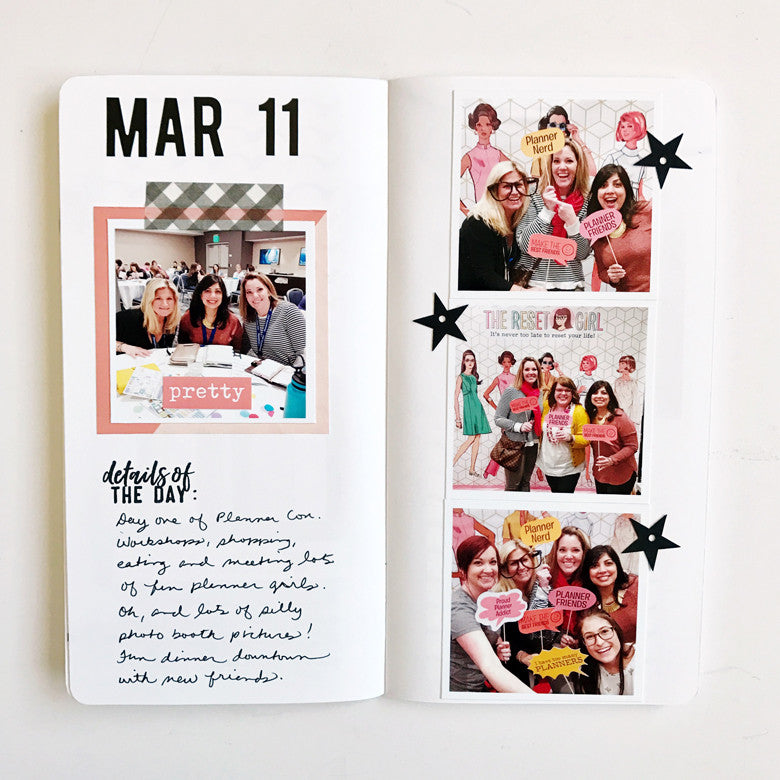 Travelers Notebook by Anita Patel | @FelicityJane