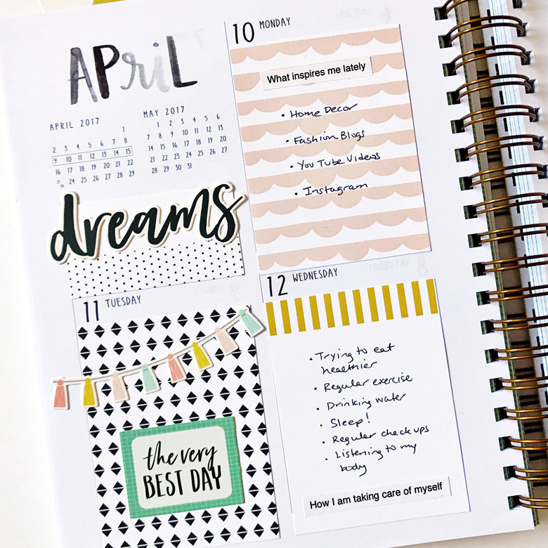 April Listers Gotta List Spread by Anita Patel | @FelicityJane