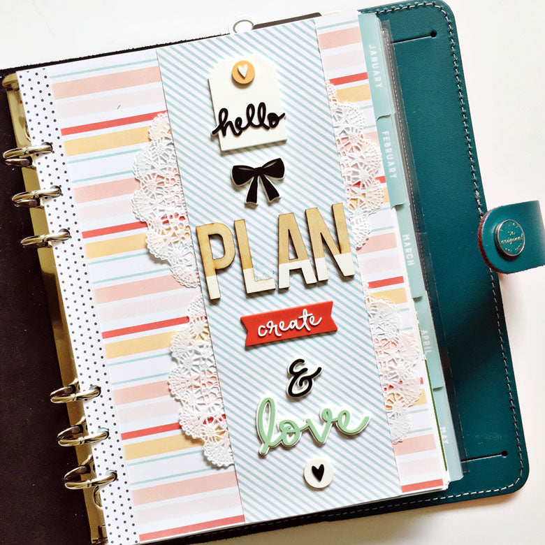 September Planner Dashboard by Anita Patel | @FelicityJane