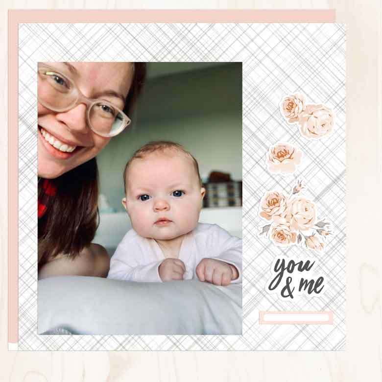 Digital Layout by Guest Designer Amberleigh Smith for Felicity Jane