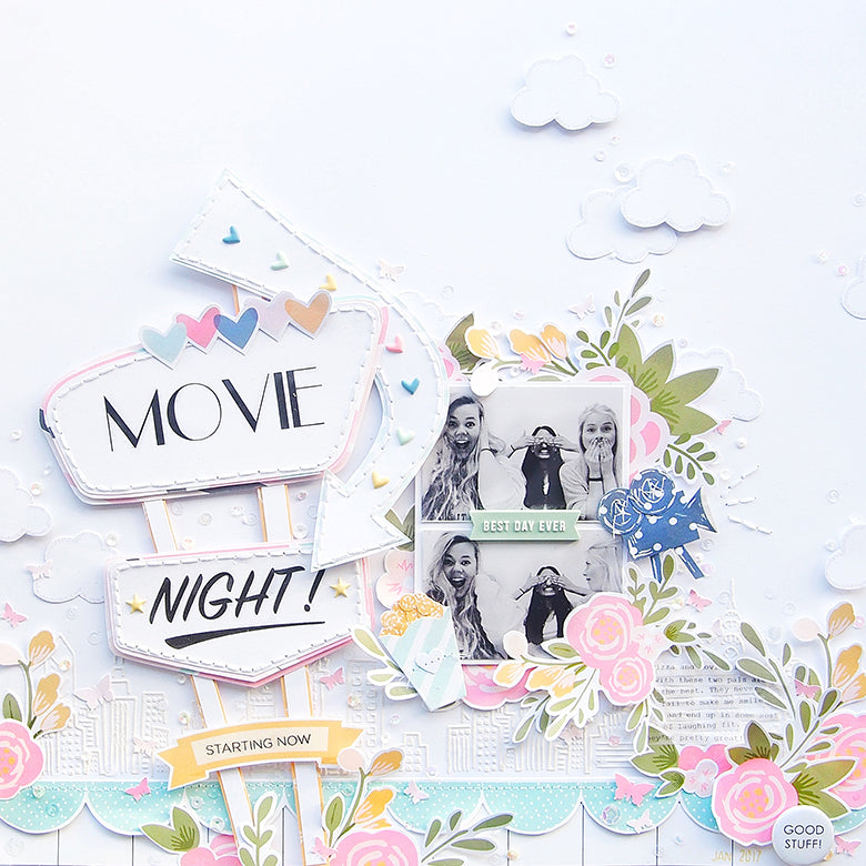 'Movie Night!' by Elsie Robinson | @FelicityJane