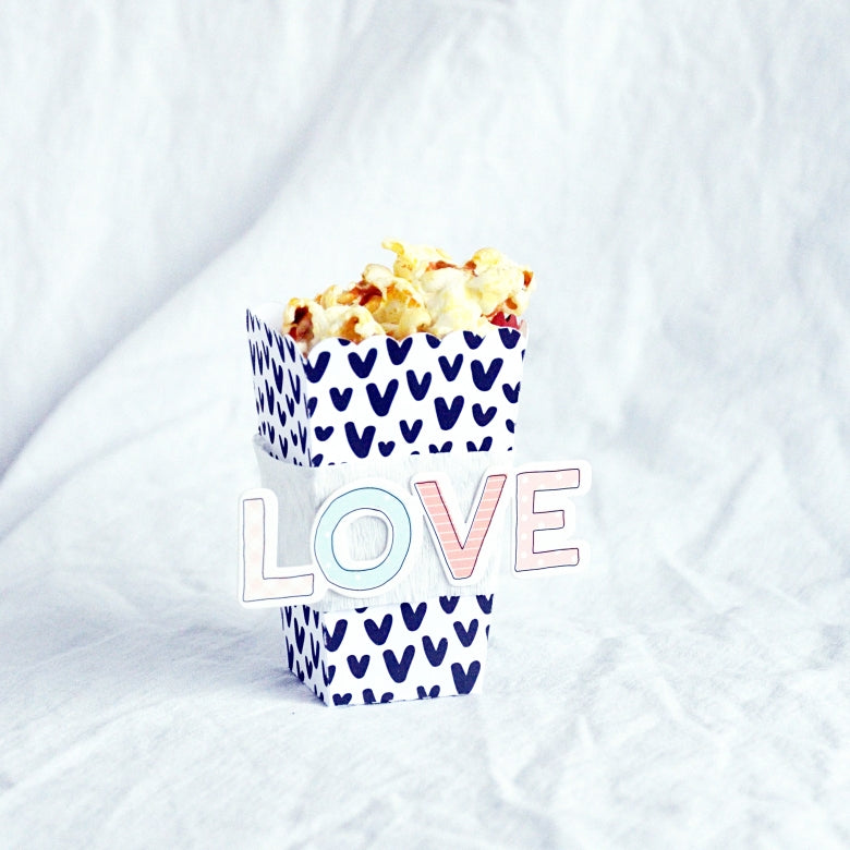 Popcorn Boxes by Anne Keller for Felicity Jane