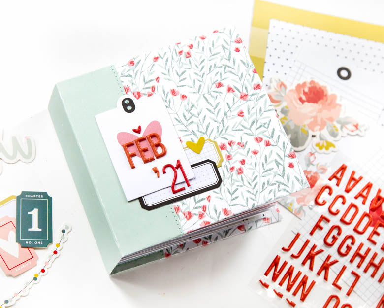 Mini Album by Guest Designer Alena Grinchuk for Felicity Jane