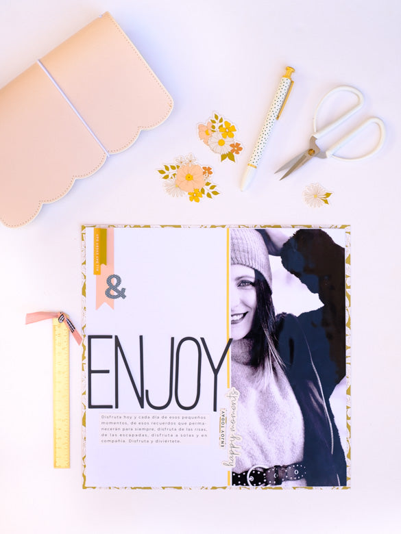 Scrapbook Layout by Laura Balboa for Felicity Jane