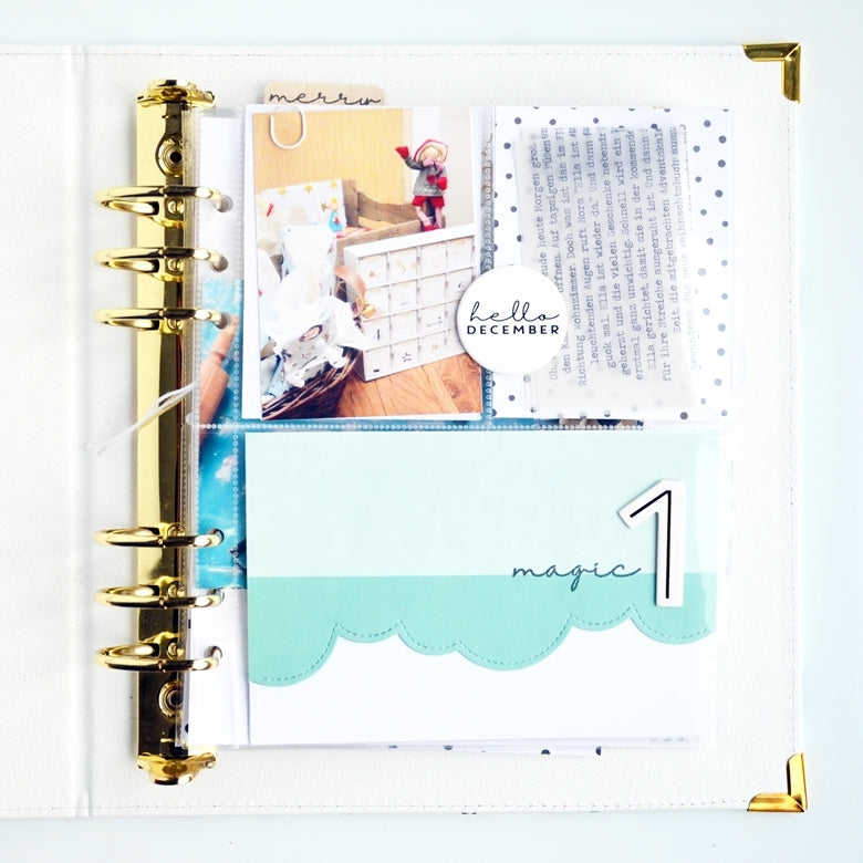 December Pages by Anne Keller for Felicity Jane
