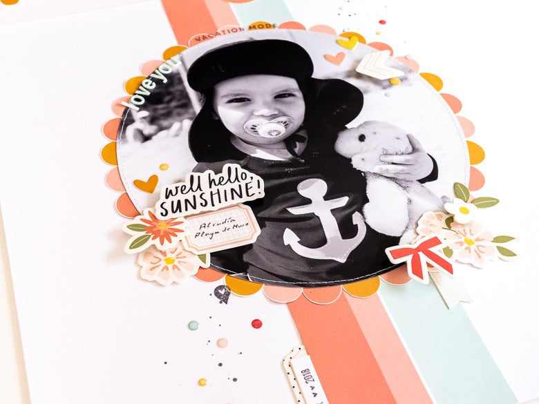 Scrapbook Layout by Urike Dold for Felicity Jane