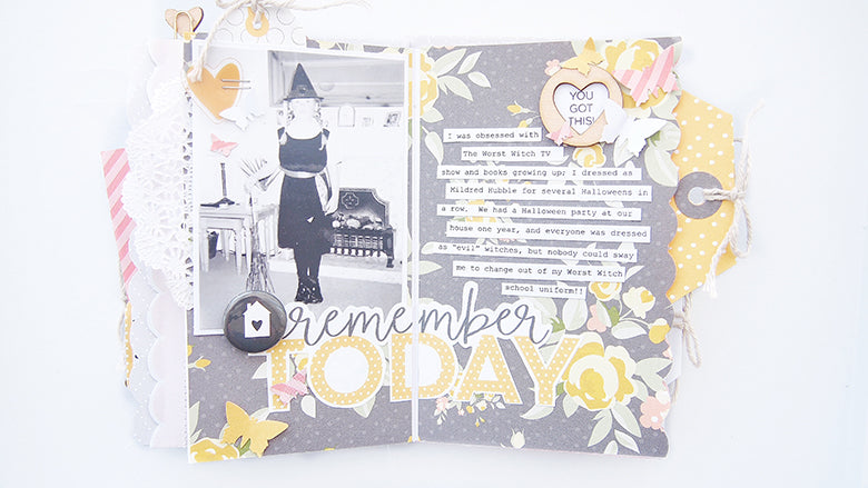 'Boo!' Halloween Mini Album by Elsie Robinson | @FelicityJane