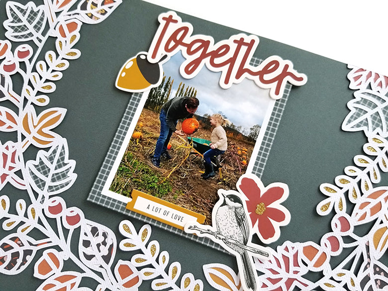 Scrapbook Layout by Tina Stepanova for Felicity Jane