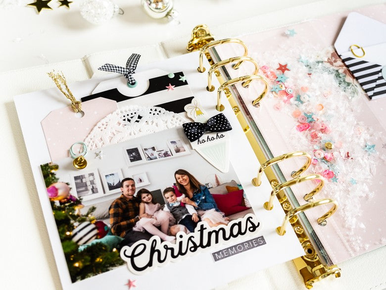 December Album Pages by Ulrike Dold for Felicity Jane