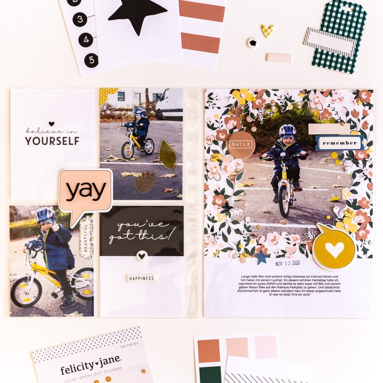 Pocket Pages by Ulrike Dold for Felicity Jane