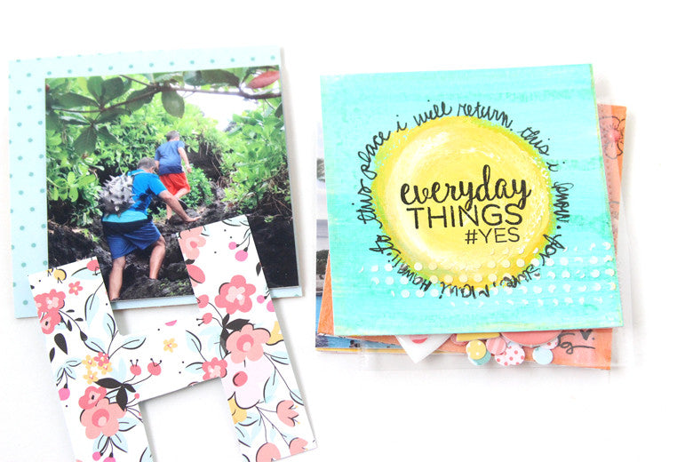 Art Journal Mini Album by @nancydamiano | @felicityjane