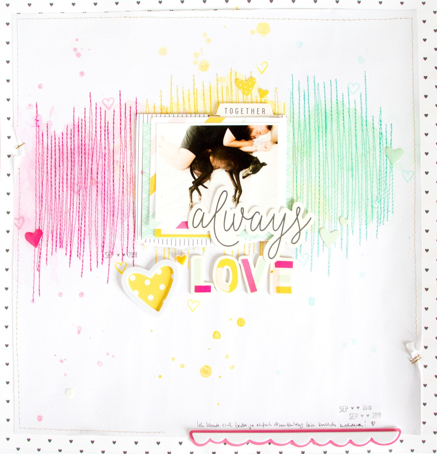 Always Love Layout with the Lindsey Kit 1 | Kathleen Graumüller | Felicity Jane
