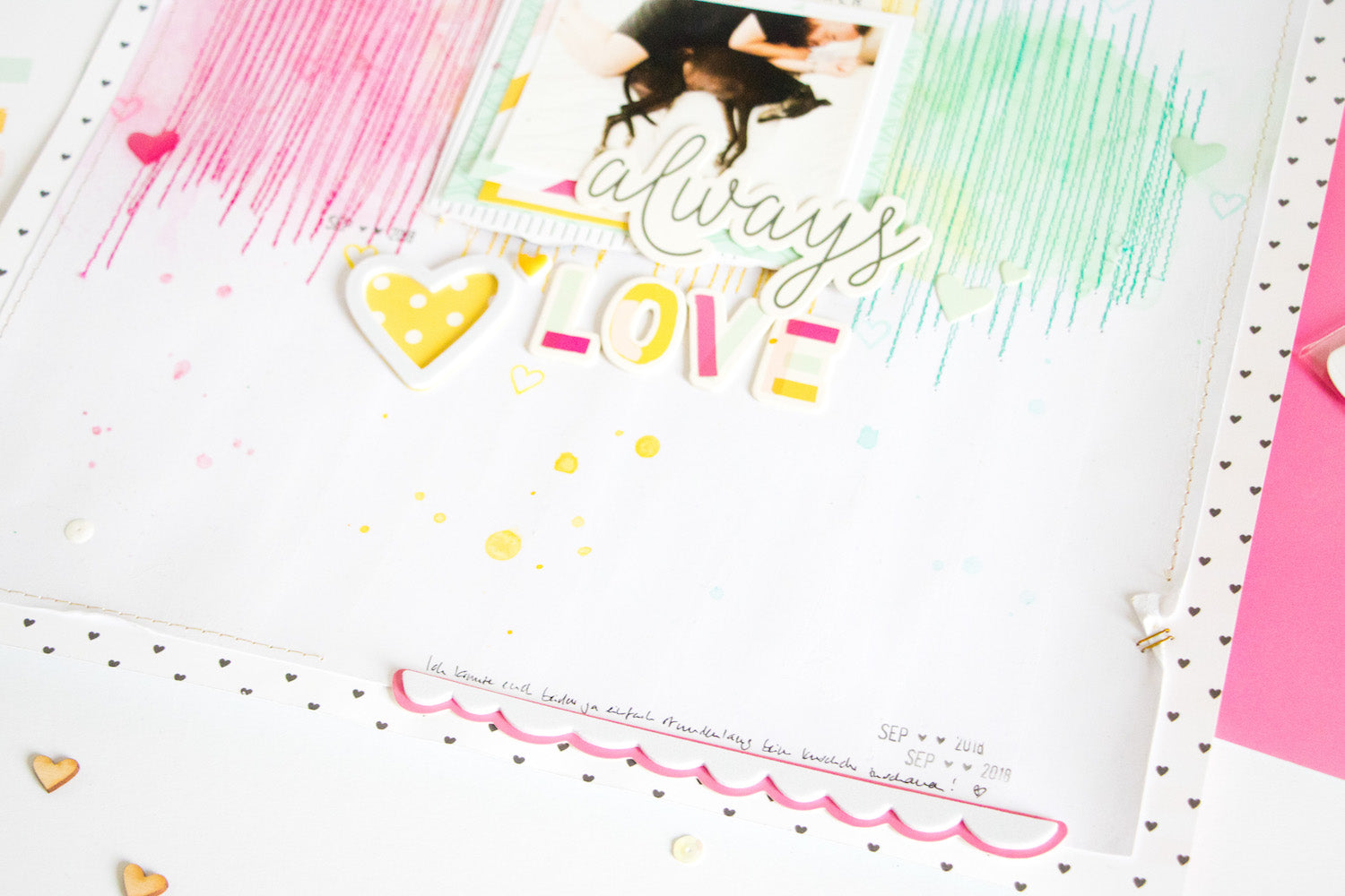 Always Love Layout with the Lindsey Kit 5 | Kathleen Graumüller | Felicity Jane