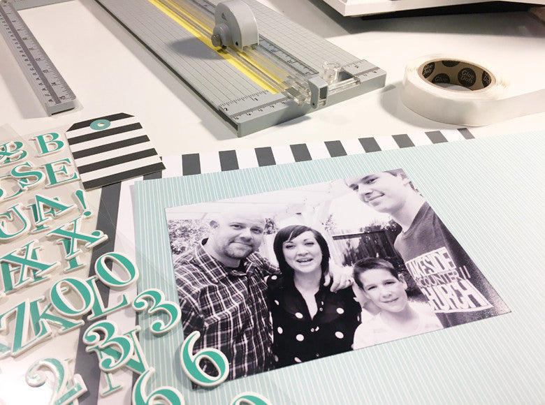 Home Decor Using Papers & Embellishments by Andrea Gray | @FelicityJane