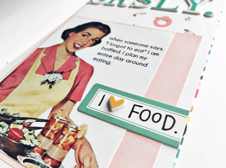 SRSLY. I Love Food | Andrea Gray @FelicityJane