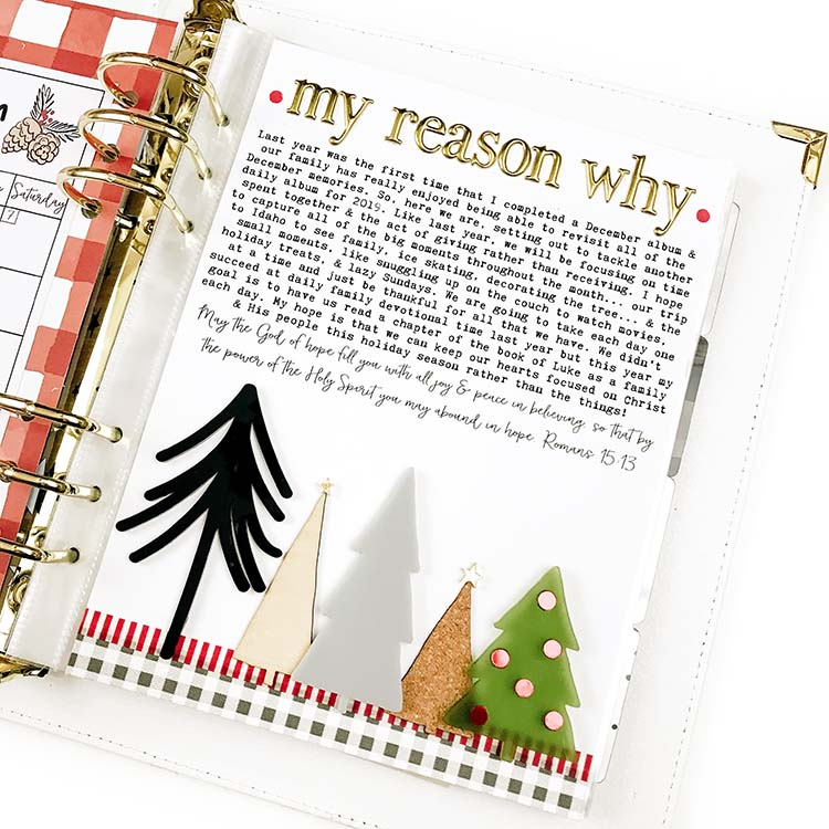 December Pages by Lindsey Lanning for Felicity Jane