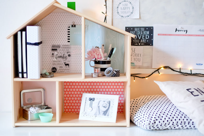 Home storage by Suse Fish | @FelicityJane