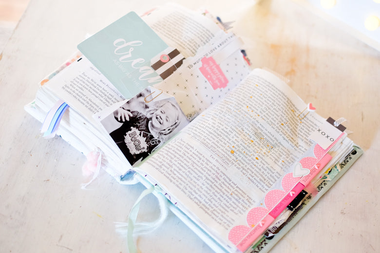 Bible Journalling by Suse Fish | @FelicityJane