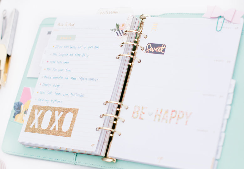 Alexes Marie Brown | @felicityjane | Planner Set Up | Kikki.K