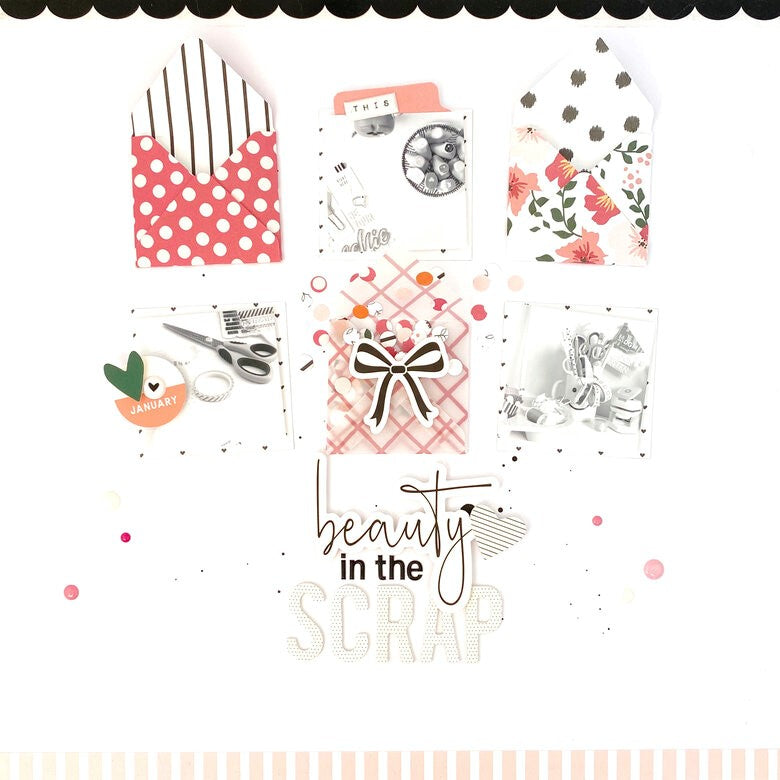 Scrapbook Layout by Danielle Menage-Jensen for Felicity Jane