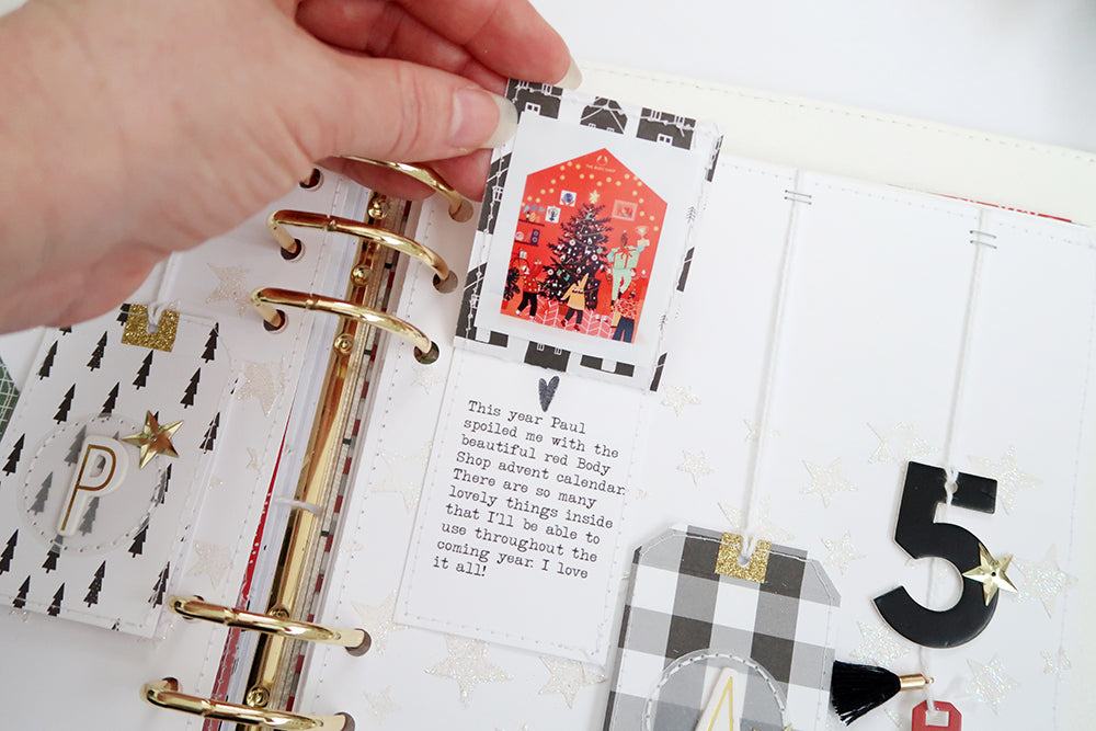 December Pages by Sheree Forcier for Felicity Jane